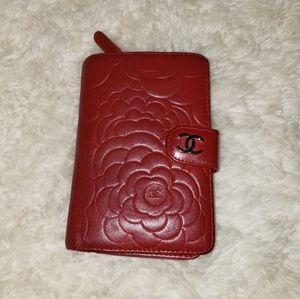 Auth Chanel Camellia Wallet  * Pls read*
